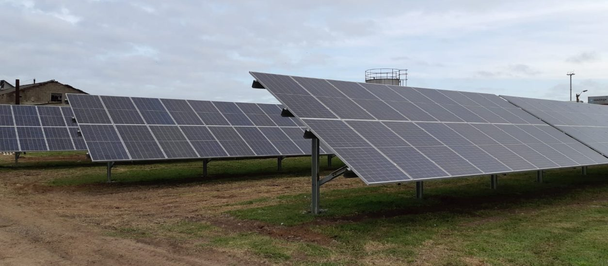 We install a photovoltaic park in Pepsi-co Uruguay