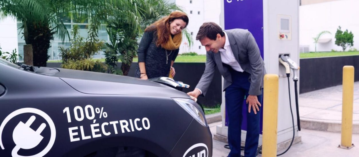 The first proyect with electric cabs on Peru has begun