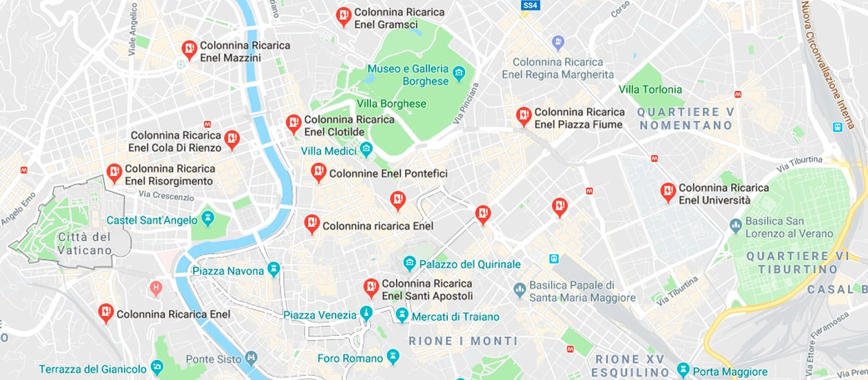 E-vehicle | Enel X charging points are now shown on Google Maps
