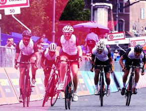 Giro E, the Giro d'Italia rides with Enel X