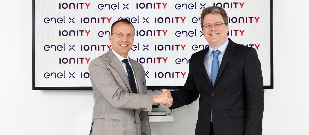 Ultra-Fast charging with Enel X and IONITY