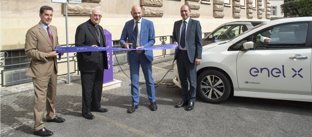 Charging electric vehicles in Vatican City - Enel X