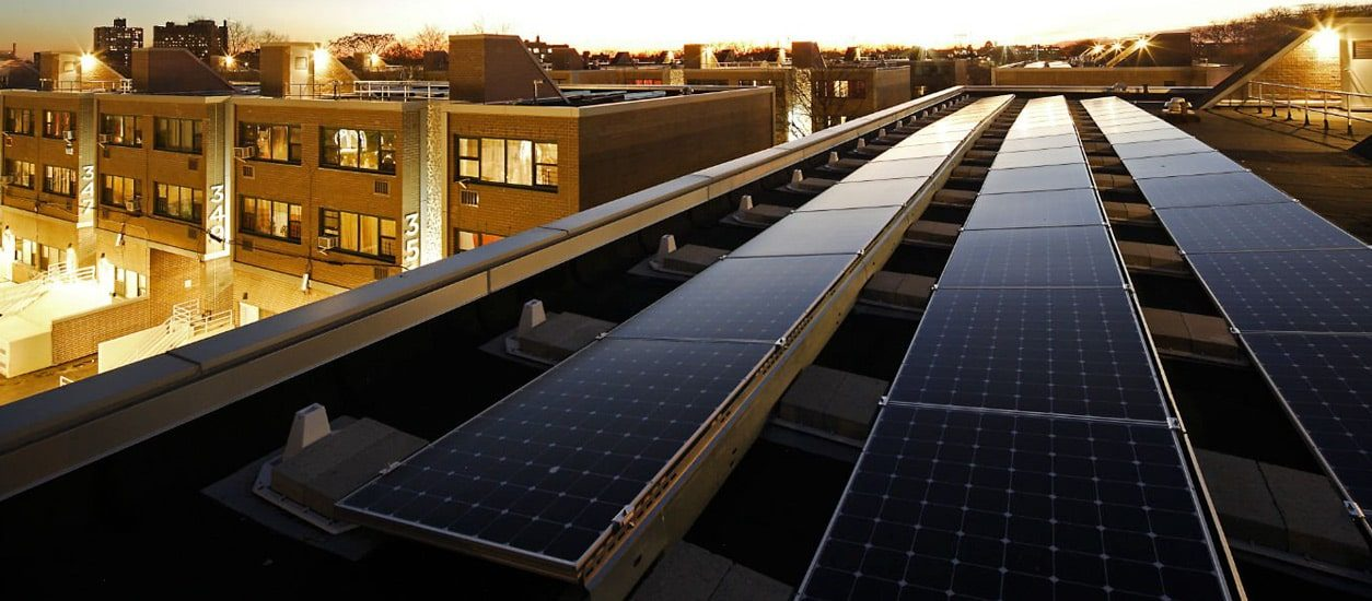 New York's first self-sufficient apartment building, thanks to Enel X's smart microgrid