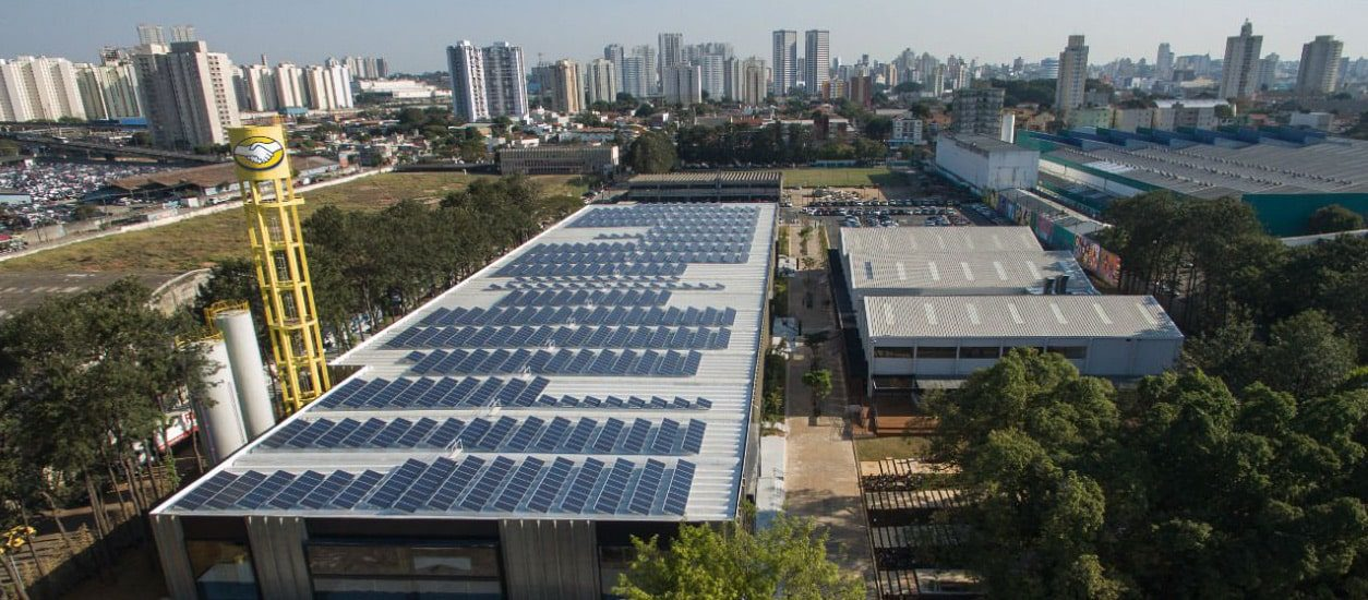 Brazil's largest rooftop solar plant on the Melicidade
