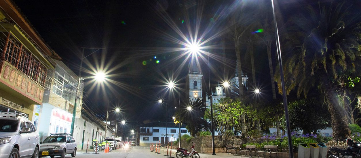 Sustainable LED lighting installation in Colombia | Enel X