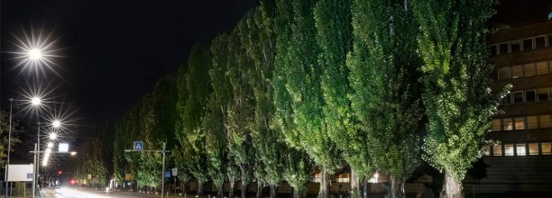 Ivrea, this time urban innovation comes in the form of a new LED lighting system