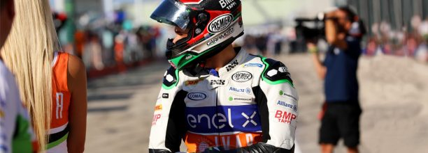 MotoE, all the energy of Enel X in Misano