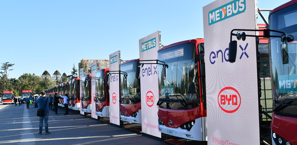 Enel X's 2019 UITP Summit award
