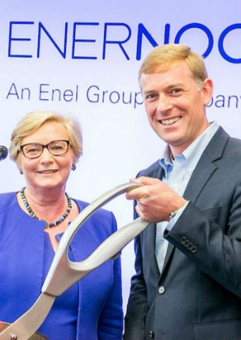 inauguration EnerNoc headquarters - Enel X