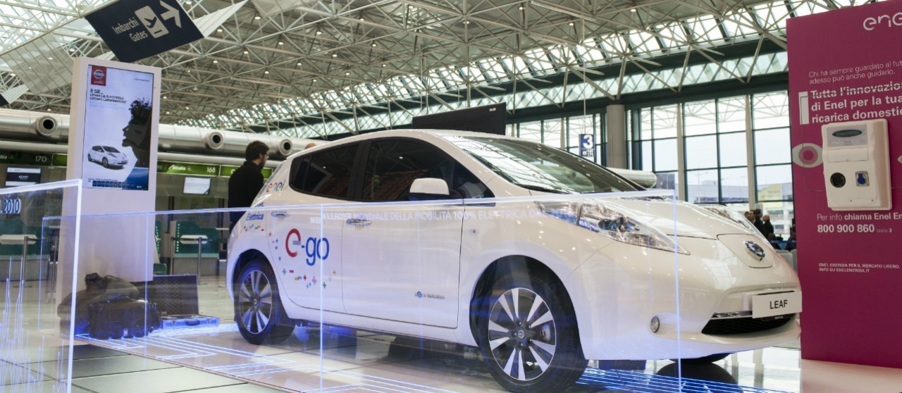 e-car Nissan Leaf - Enel X
